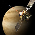 Venus Express powers into orbit